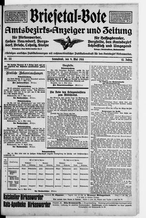 Briesetal-Bote vom 09.05.1914
