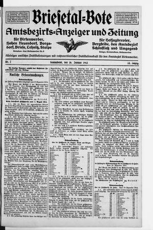 Briesetal-Bote vom 16.01.1915