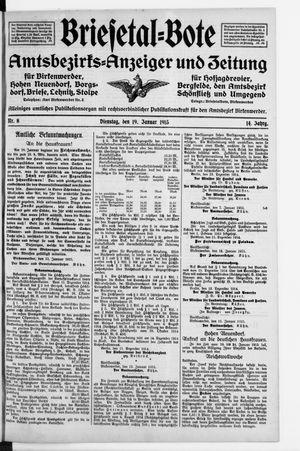 Briesetal-Bote vom 19.01.1915