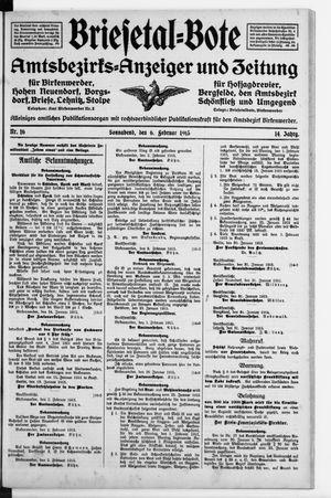 Briesetal-Bote vom 06.02.1915