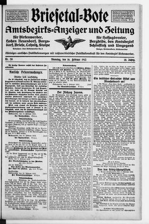 Briesetal-Bote vom 16.02.1915