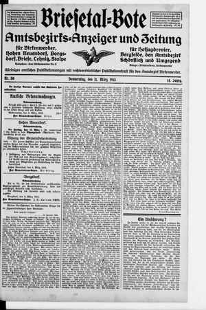Briesetal-Bote on Mar 11, 1915