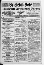 Briesetal-Bote (21.10.1915)