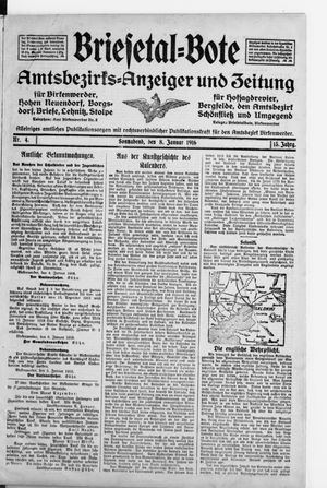 Briesetal-Bote vom 08.01.1916