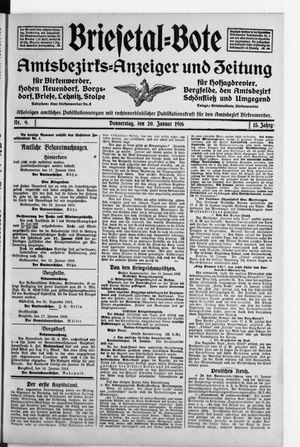 Briesetal-Bote vom 20.01.1916