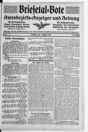Briesetal-Bote vom 01.02.1916