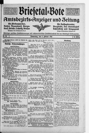 Briesetal-Bote vom 03.02.1916