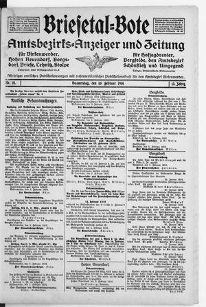 Briesetal-Bote vom 10.02.1916
