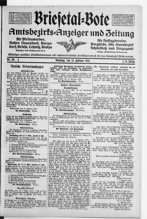 Briesetal-Bote on Feb 15, 1916