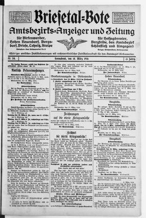 Briesetal-Bote vom 18.03.1916