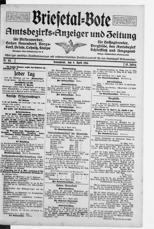 Briesetal-Bote vom 08.04.1916