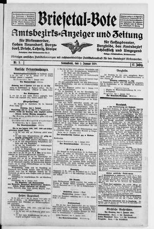 Briesetal-Bote vom 05.01.1918