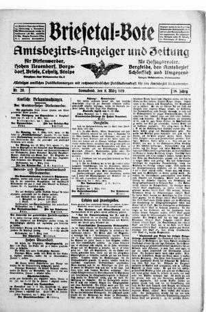Briesetal-Bote on Mar 8, 1919