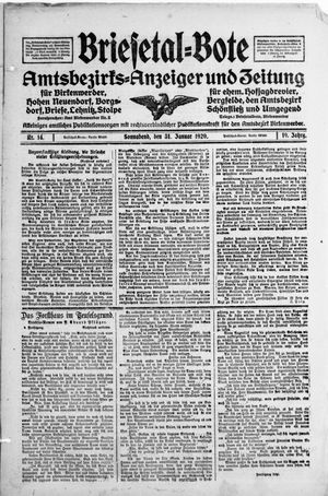 Briesetal-Bote vom 31.01.1920