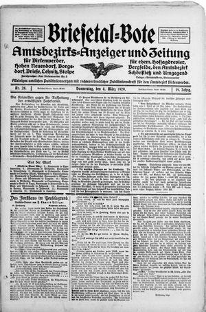 Briesetal-Bote vom 04.03.1920