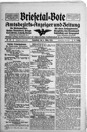 Briesetal-Bote vom 06.03.1920
