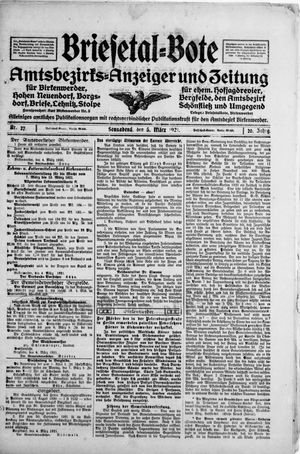 Briesetal-Bote vom 05.03.1921