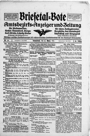 Briesetal-Bote vom 12.03.1921