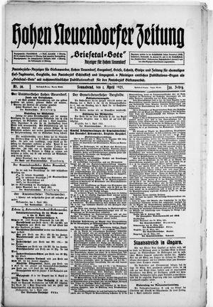 Briesetal-Bote vom 02.04.1921