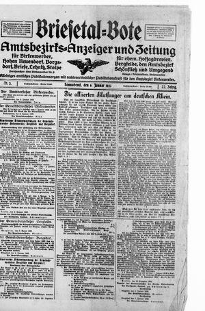 Briesetal-Bote vom 06.01.1923
