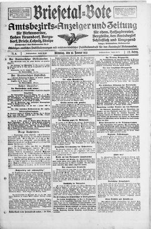 Briesetal-Bote vom 23.01.1923