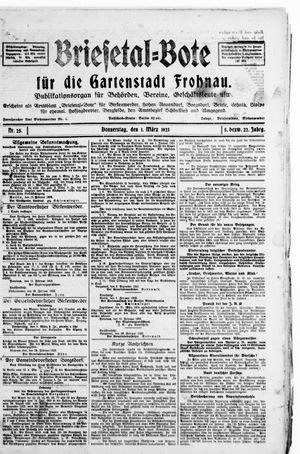 Briesetal-Bote vom 01.03.1923