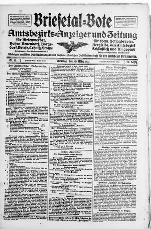 Briesetal-Bote vom 13.03.1923