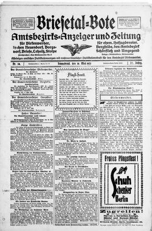 Briesetal-Bote vom 19.05.1923