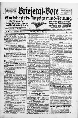 Briesetal-Bote vom 31.05.1923