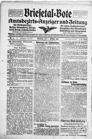 Briesetal-Bote vom 05.02.1924