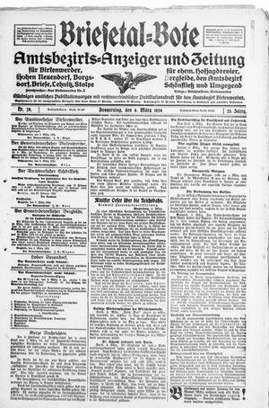 Briesetal-Bote vom 06.03.1924