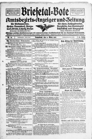 Briesetal-Bote vom 08.03.1924