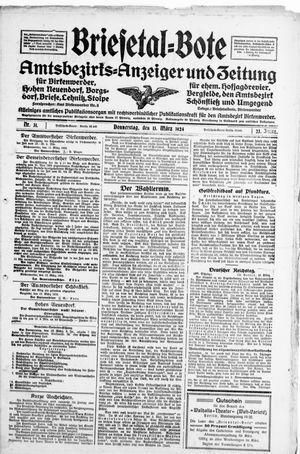 Briesetal-Bote vom 13.03.1924