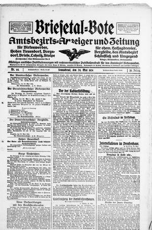Briesetal-Bote vom 24.05.1924