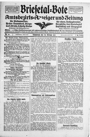 Briesetal-Bote on Feb 28, 1925