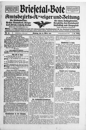 Briesetal-Bote vom 10.03.1925