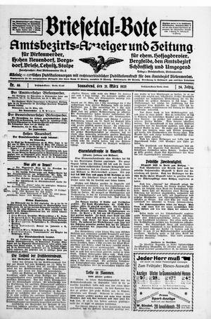 Briesetal-Bote on Mar 21, 1925