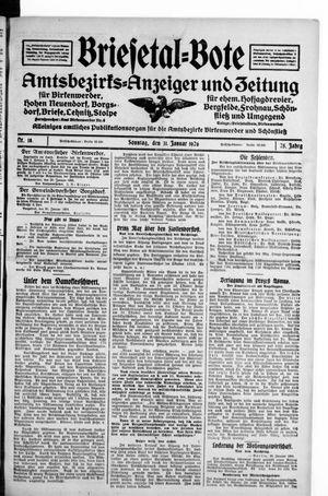 Briesetal-Bote on Jan 31, 1926