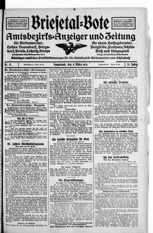 Briesetal-Bote vom 06.03.1926