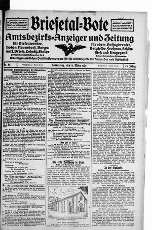 Briesetal-Bote on Mar 11, 1926