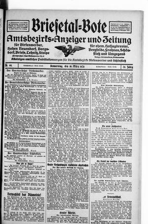 Briesetal-Bote on Mar 18, 1926