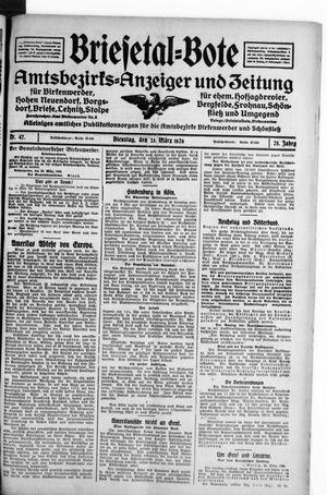 Briesetal-Bote vom 23.03.1926