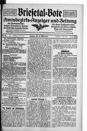 Briesetal-Bote vom 28.03.1926