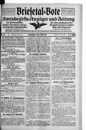 Briesetal-Bote vom 01.05.1926