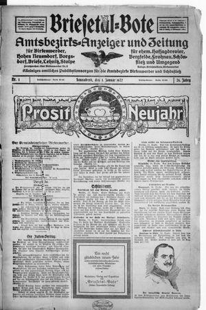 Briesetal-Bote vom 01.01.1927