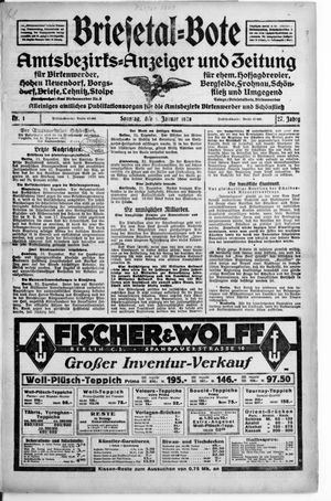 Briesetal-Bote vom 01.01.1928
