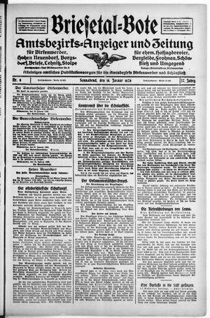 Briesetal-Bote vom 14.01.1928