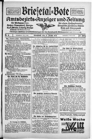 Briesetal-Bote vom 28.01.1928