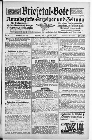 Briesetal-Bote vom 31.01.1928