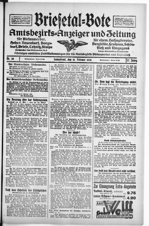 Briesetal-Bote vom 18.02.1928